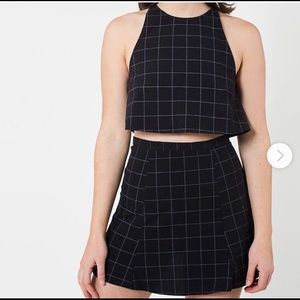American apparel 2 piece co ord set